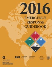 2016 Emergency Response Guidebook Cover