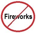 Fireworks ban picture