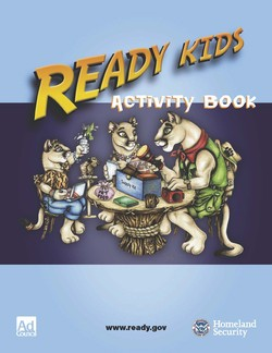 Ready Kids Activity Book Cover