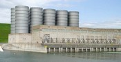 Garrison Dam on the Missouri River near Pick City, ND