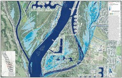 Flood Inundation Map Panel