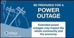 Be prepared for A Power Outage