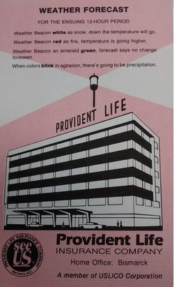 Provident Life Weather Beacon Flyer