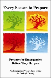 Cover of the Burleigh County Emergency Preparedness Guide