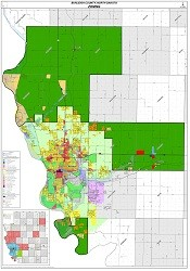 Zoning Boundary on 4 Mile Zoning Map