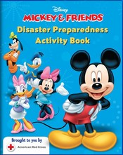 Front Page of Mickey and Friends Activity Book